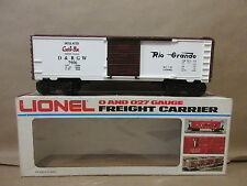 Lionel D&RGW Insulated Cookie Box Bakery Goods Boxcar 6-9406 Train