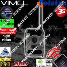 3G Security Camera Wireless GSM Trail Farm Remote Monitoring Scout Night Vision