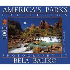 Americas Parks 1000 Piece Puzzle