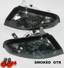 SKYLINE R32 GTR BNR32 SHADED CORNER INDICATOR LIGHTS SIDE MARKERS for NISSAN