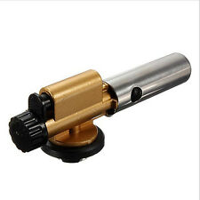 Portable Gas Torch Flamethrower Butane Burner Auto Ignition For Outdoor Picnic