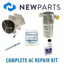 VW Passat 1.8L Audi A4 1.8 Complete AC A/C Repair Kit W/ NEW Compressor & Clutch