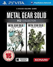 PS vita Metal Gear Solid METALGEAR HD COLLECTION GIOCO PER PLAYSTATION PSV NUOVO