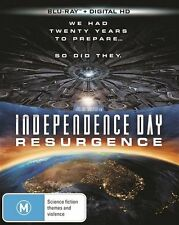 Independence Day - Resurgence (Blu-ray, 2016) (Region B) Aussie Release
