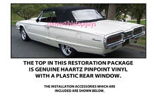 FORD THUNDERBIRD CONVERTIBLE TOP DO IT YOURSELF PACKAGE 1964-1966