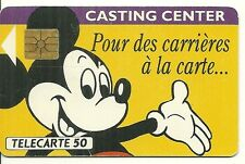 RARE / CARTE TELEPHONIQUE - MICKEY : WALT DISNEY / PHONECARD