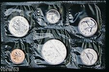 1985 Canada Prooflike PL set - 6 perfect coins in original plastic