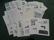 May 1984 SAAB 9000 TURBO 16 UK PRESS RELEASE + TECHNICAL DRAWING SHEETS Brochure