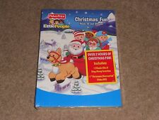 FISHER PRICE - LITTLE PEOPLE CHRISTMAS FUN MUSIC DVD CD BOXSET * NEW / SEALED *