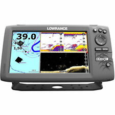 **New Lowrance HOOK-9 Combo w/83/200/455/800 HDI Transducer 000-12670-001