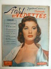 Magazine STARS et VEDETTES (CINEMONDE) n° 25 de 1950 - Cv. Peggy DOW