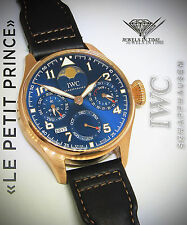 IWC Big Pilot Le Petit Prince 18k Rose Gold Rare Watch Box/Papers IW502802