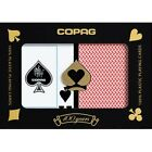 Copag Export Poker Size Jumbo Index Plastic Playing Cards (Blue Red)