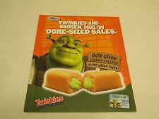 Hostess Twinkies Shrek Sales Folder