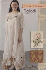PATTERN - Daffodil Dress - women's sewing PATTERN from Tina Givens