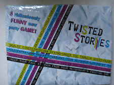 Twisted Stories Party Game Story Telling, Acting, Dancing New in Sealed Package