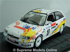 OPEL ASTRA GSI 16V CAR MODEL RALLY 1:43 SCALE THIRY FAVIER 1993 IXO T3412Z