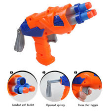 Soft Bullet Children Simulation Air SoftProjectile Model Gun Nerf Toy Military