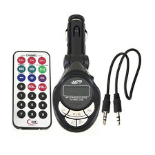 Car MP3 Player Wireless FM Transmitter Modulator USB 8GB SD CD MMC Remote XRC