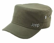Adjustable Olive Green Jeep Hat Military Cap One Size Fits Most Fast Shipping