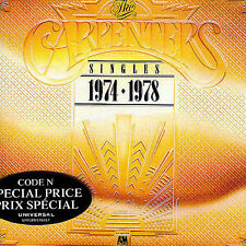 Carpenters CD..Singles 1974-1978 .THE BEST OF.GREATEST HITS