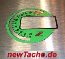 Kawasaki Z1000 03-06 Tachoscheiben Tacho Gauge Dial  Ninja grün Ziffernblatt