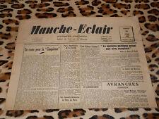 Journal MANCHE-ECLAIR, éd. du Sud de la Manche - n° 16, 19/04/1947