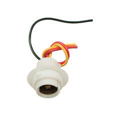 BAY15D 380 380R 334 Ceramic Car Bulb Holder Plug Straight Lead Wire