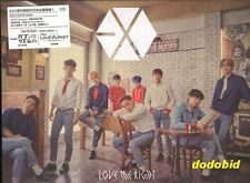 EXO Love Me Right Romantic Universe 2015 [CD+DVD+1 Card] New & Sealed