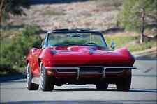 Metal Sign 779048 1966 Corvette Convertible A4 12X8 Aluminium