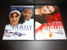FAMILY PICTURES & LOVERBOY-2 movies-KYRA SEDGWICK, ANGELICA HUSTON, KEVIN BACON