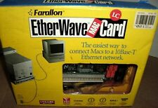 FARALLON ETHERWAVE PN892-TP MAC NUBUS ETHERNET NETWORK ADAPTER RETAIL COLLECTOR