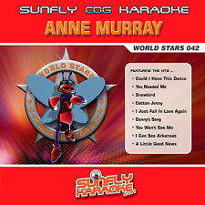 ANNE MURRAY SUNFLY KARAOKE CD+G 14 HITS