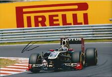 Genuine NICK HEIDFELD Signed LOTUS Pirelli Autograph BMW F1 12x8 Photo AFTAL COA