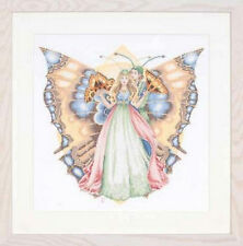 Butterflies - Lanarte Counted Cross Stitch Kit with 14 Ct. Aida New