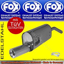 FOX AUSPUFF VW Sharan 7M ab 11/1995 1x90 2.0l 2.8l 1.9TDI