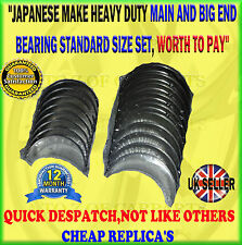 FOR XTRAIL 2.2 NAVARA 2.5 MAIN CRANKSHAFT BEARING CONROD BIG END BEARING SET