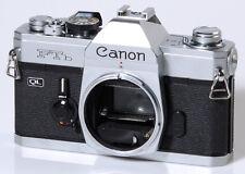 REFLEX 35mm CANON FD : CANON FTB - SILVER