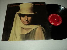 BARBRA STREISAND 33 TOURS LP USA MY NAME IS BARBRA? TWO...