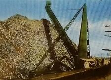 """The Great Pulpwood Stacker"" (Logging/Paper), Canada, Magic Lantern Glass Slide"