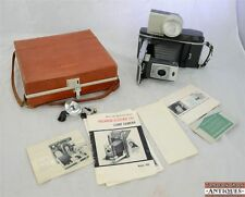 Vintage Polaroid 900 Electric Eye Land Film Camera Flash Carry Case Wink Light