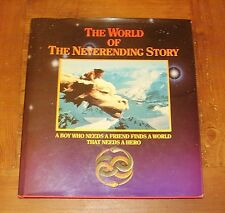 Rare Hardback Book The World of The Neverending Story Michael Goerdon Film