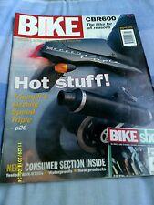 BIKE (jan1994)Tri Speed Triple/KLX250R/H-D Convertible/Aprilia 650/CB400F/