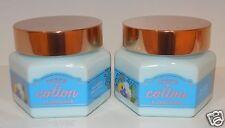 LOT OF 2 BATH & BODY WORKS SHEER COTTON LEMONADE SHEA FRUIT SOUFFLE CREAM LOTION