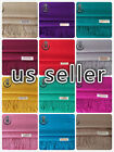 Solid Pashmina Silk Cashmere Wool Shawl Scarf Wrap -perfect party favor-66colors