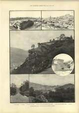 1889 South-west Spain Sketches On The Zafra Huelva Railway
