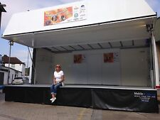 STAGE FOR HIRE, 6M X 4M COVERED STAGE, LIVE BANDS, EVENTS, FETES, FUN DAYS,