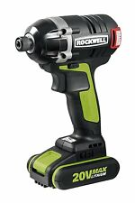 RK2860K2 20V Li-ion Brushless Impact Driver by Rockwell