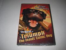 The Best of Triumph the Insult Comic Dog (DVD, 2004) BRAND NEW SEALED!