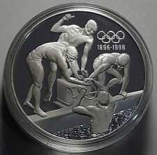 1993 Australia 20 Dollars KM#219 1oz Silver Proof Coin GEM FDC Olympics Swimming